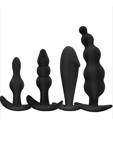 KCoob Tapones de desgaste cómodos a largo plazo, 4 piezas en negro puro