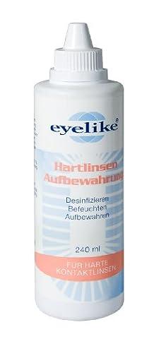 Eyelike Hartlinsenaufbewahrungslöung 240ml (Desinfizieren Von Kontaktlinsen)