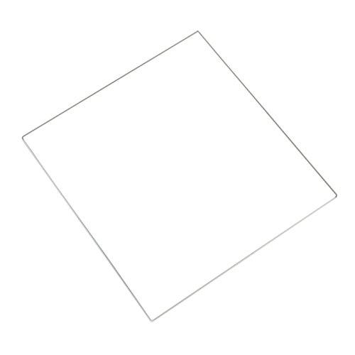 Placa de vidrio de borosilicato - TOOGOO(R)Cama templado de vidrio de borosilicato de placa impresora 3D MK2 MK3 climatizada 213*200*3mm