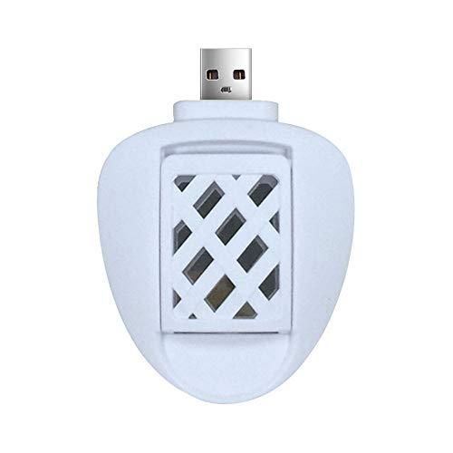 Preisvergleich Produktbild LIUYUNE, Tragbarer elektrischer Moskito-Mörder Mini USB angetriebenes Insektenschutzmittel(Color:Weiss)
