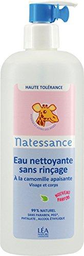 Bébé Naturel Eau Nettoyante Sans Rinçage 500 Ml