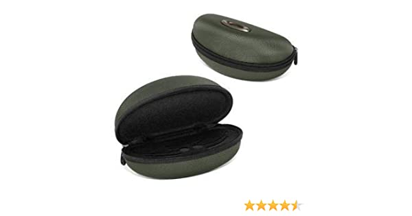 oakley half jacket golf array sunglasses  oakley half jacket/flak jacket soft vault sunglasses case green 07 347 green one size: amazon.co.uk: shoes & bags