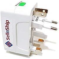 SellnShip Europe/UK/US/China/India All In One Universal International Travel Adapter Plug Surge Protector