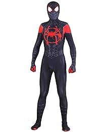 ASPIDER Traje de Cosplay de Spiderman Vestido para adultos Traje de Halloween Traje de película siamés