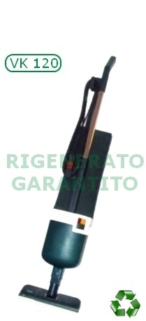 Aspiratore/Aspirapolvere/Scopa elettrica Folletto Vorwerk VK 120 rigenerato/usato