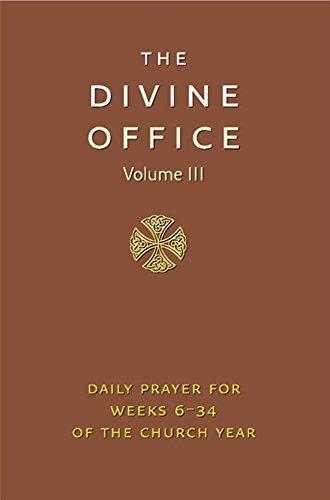 Divine Office Volume 3: v. 3