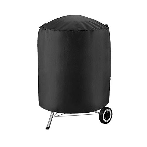 ZWJ Cubierta de Polvo Cubierta de la Parrilla de Barbacoa Barbacoa de jardín Cobertizo Cubierta de Polvo Impermeable para Muebles al Aire Libre (Size : 61x61x72cm)