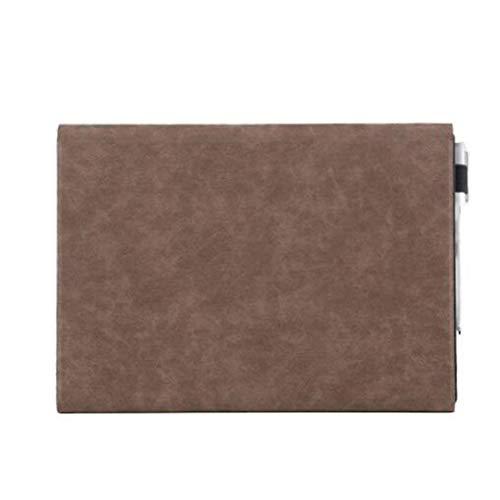 GELing Sleeve Hülle Ultrabook Laptop Tasche Kompatibel mit 12.3 Zoll Surface Pro4/5 12.3,Surface Pro3 12,Surface Go,Surface Pro6 12.3,Braun,Surface Pro3(29.6X21.5X2.8 cm)