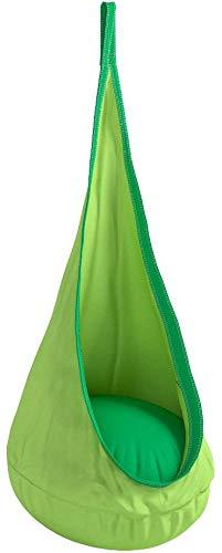 Driftsun Columpio y hamaca infantil en forma de saco / Hamaca infantil rinconera para interior y exterior, incluye herramientas