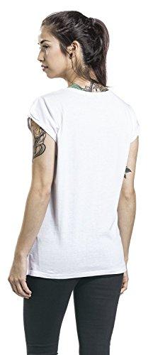 My Chemical Romance Black Parade Cover Girl-Shirt Weiß Weiß