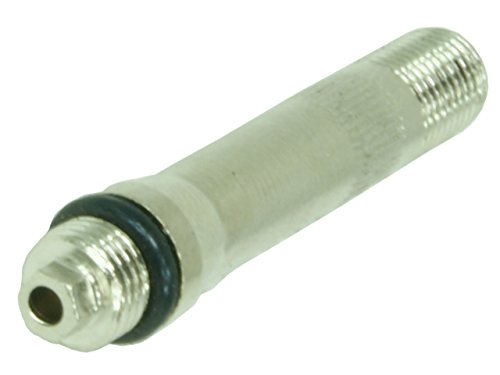 1 Adaptateur pour valves cachées type A de la marque Stix / Rallonge / adaptateur de remplacement ou de remplissage pour valve cachée, 45 mm de long / – 11,3 mm (+ 0,4 mm) / carbonado