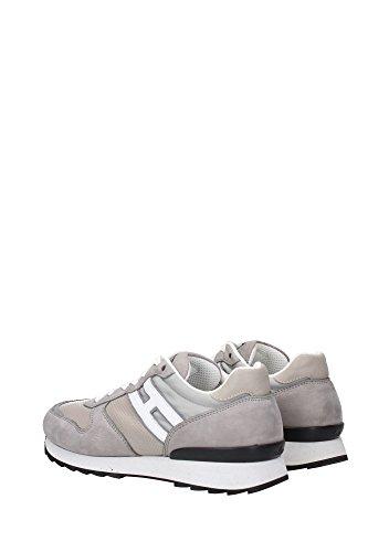 HXM2610R672C8T004D Hogan Sneakers Homme Cuir Gris Gris