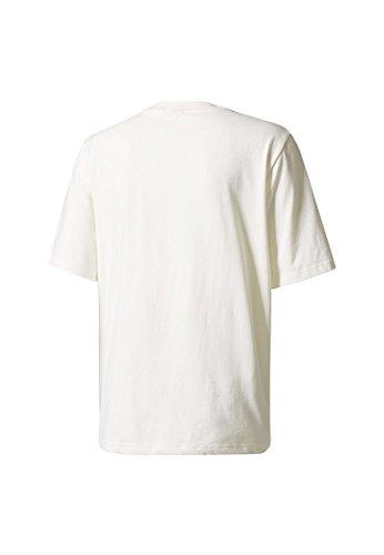 adidas Herren Ac Boxy T-Shirt White/Casbla