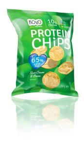 NOVO NO Protein Bites Sour Cream Low Fat, 30 g