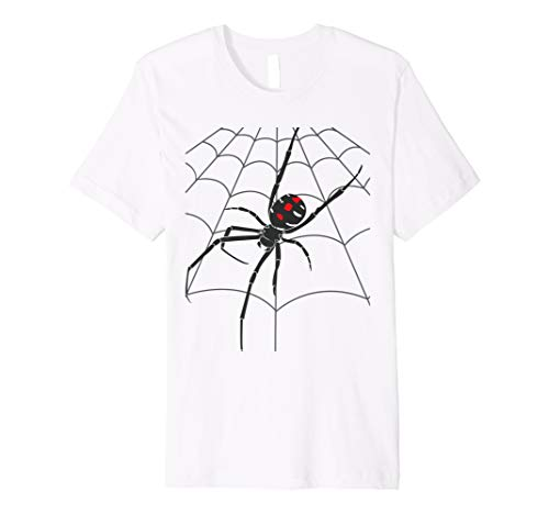 Halloween Gruseliges Spinnennetz T-Shirt Tödliche Spinne Web