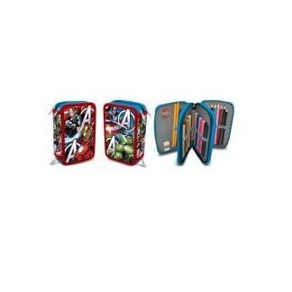 Kids Euroswan – Marvel AV16109 Avengers – Plumier triple