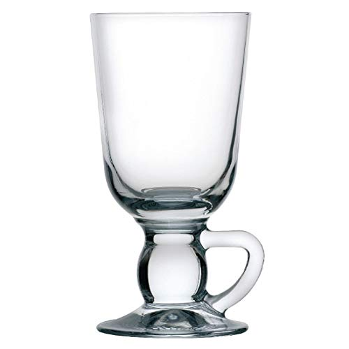 Irish Coffee Kaffeegläser Glassware Trinkglas Becher Home Kitchen Restaurant BAR Cafe Besteckset 280 ml 10oz/280 ml. Stückzahl: 24.