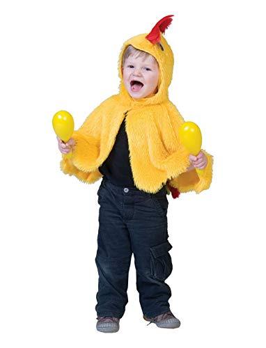 costumebakery - Baby Jungen Mädchen Kostüm Hühner Umhang -
