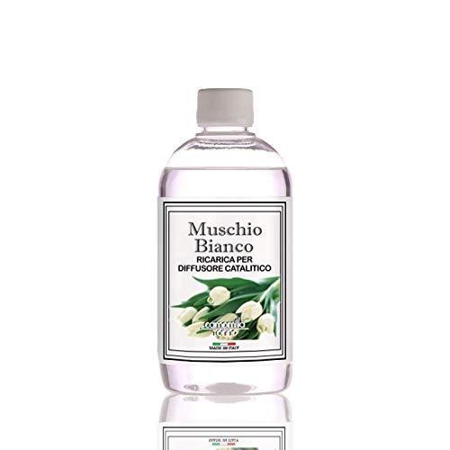Ricarica Diffusore di profumo per lampada profumata catalitica, 500ml. Muschio Bianco