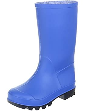 Ital-Design Kinder Schuhe, GST-K130P, REGENSTIEFEL GUMMISTIEFEL