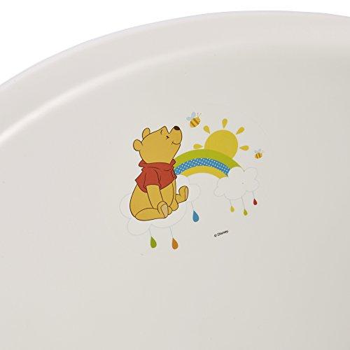 """keeeper 18423100084 jan """"winnie the pooh"""" babywanne 84 cm mit stöpsel weiß - 5"""