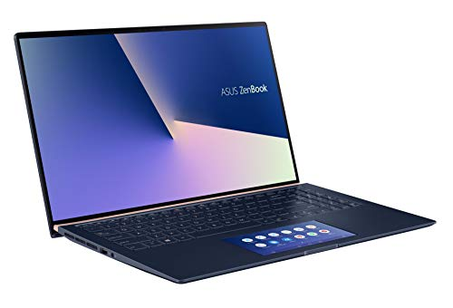 ASUS ZenBook 15 UX534FT (90NB0NK3-M00240) 39,6cm (15,6 Zoll, FHD, WV) Ultrabook (Intel Core i7-8565U, 16GB RAM, 512GB SSD, NVIDIA GTX1050 Ti (4GB), Windows 10) royal blue