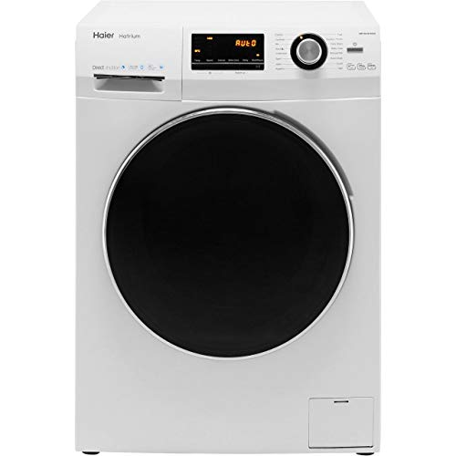 Haier HW100-B14636 A+++ Rated Freestanding Washing Machine - White on