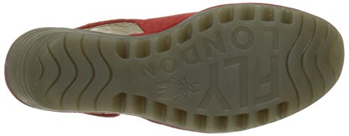 FLY London Yone642fly, Escarpins femme Rouge (Street Red 008)