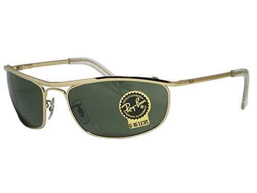 Ray Ban RB3119 Olympian 001 Gold Sunglasses 62mm