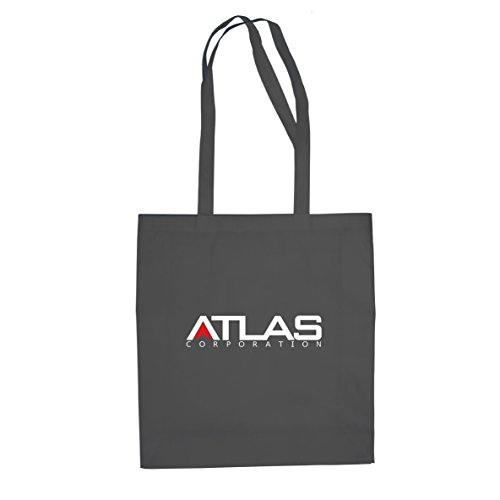 Planet Nerd Atlas Corp - Stofftasche/Beutel, Farbe: grau