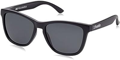 D.Franklin ROOSEVELT BLACK MATTE / BLACK - gafas de sol, unisex, color negro, talla UNI