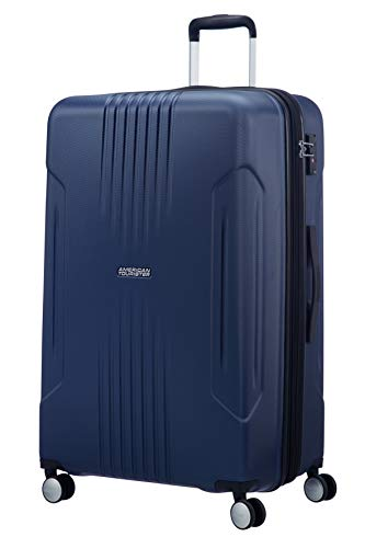American Tourister Tracklite - Spinner Large Expandable Koffer, 78 cm, 120L, Dark Navy