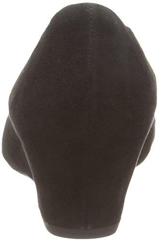 Gabor Tenerife, Scarpe con tacco a punta chiusa donna Nero (Nero (Black Suede))