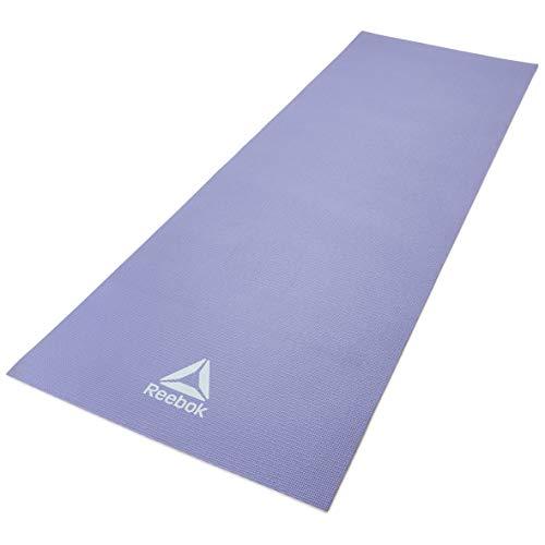 Reebok Estera de Yoga - Púrpura, 4 mm