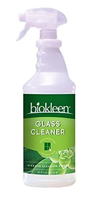 Biokleen Glass Cleaner Spray, 32 Ounces (Pack of 12)