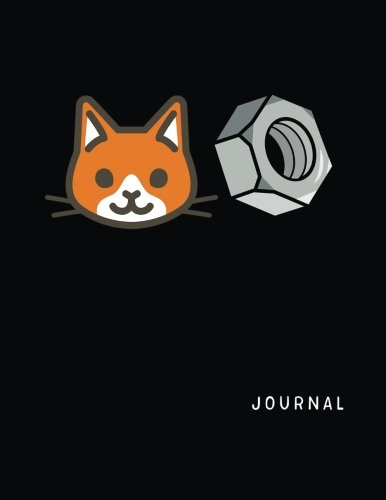 Journal: Cat Nut, Blank Sketchbook For Kids (Sketch, Draw and Doodle) por Dartan Creations