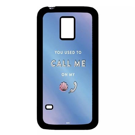 Designed Fresh Beach Theme Rugged Plastic Cover Case for Samsung Galaxy S5 Mini, Samsung S5 Mini Hard Shell Casing Funny for Teens