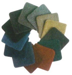 GSI AM14, revestimiento acústico, alfombra del coche - de color verde oscuro, 0,9 m de ancho precio por metro lineal, rollos
