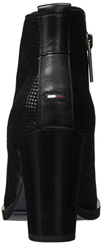 Tommy Jeans Damen J1385ade 13c Chelsea Boots Schwarz (Black)