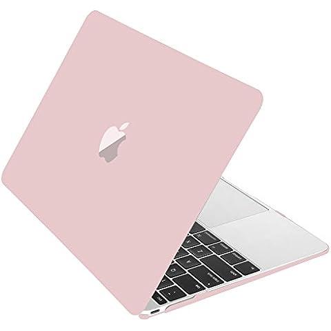 MOSISO Funda dura de plástico para MacBook 12