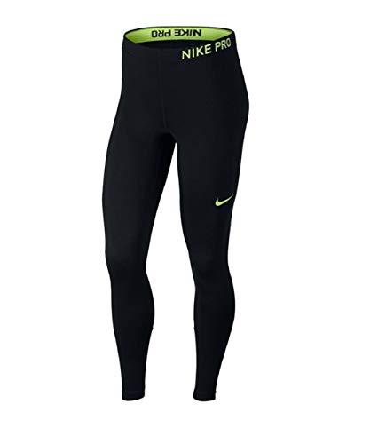 Nike Damen Kurze Hose New Hustle Reversible Tight, Black/(Volt Glow), M - Nike Basketball-zubehör