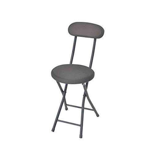 WEN PING Runde Mesh Tuch gepolsterte Klappstuhl Küche Hocker Soft Seat, Sitzhöhe 45cm