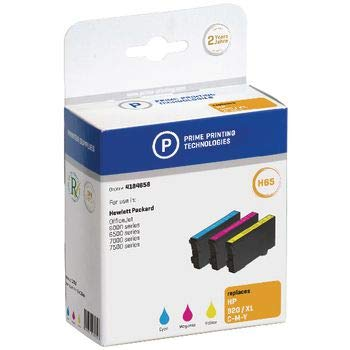 14-magenta-inkjet-druckkopf (Prime Printing 4184658 Sparpack Tintenpatronen für HP CD972AE, cyan/magenta/gelb)