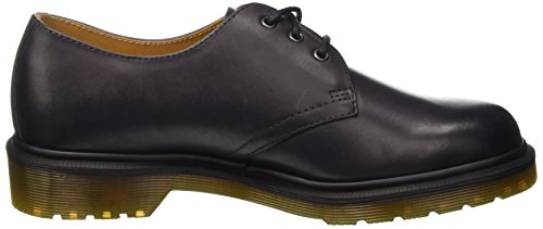 Dr. Martens 1461 Temperley, Mocassins Unisex – Adulto Grigio (Charcoal Antique Temperley)