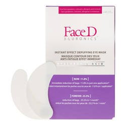 Face Patch Contour des Yeux Anti Poches Effet immédiat 8 × 2 monodose