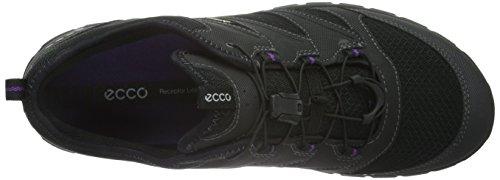Ecco Terratrail, Chaussures de Trail Femme Noir (51052Black/Black)