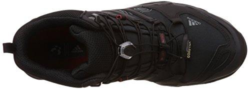 adidas Terrex Swift R Mid GTX, Chaussures de trekking et randonnée homme Noir (Core Black/Vista Grey S15/Power Red)