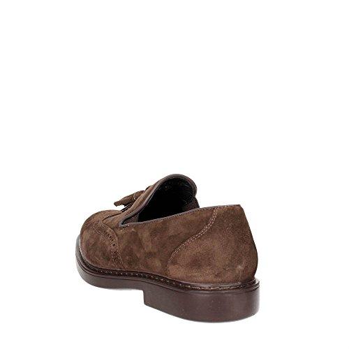 Ecco Enrico, Sneakers Basses Homme - Marron - Brown (camel/whisky59518), 43