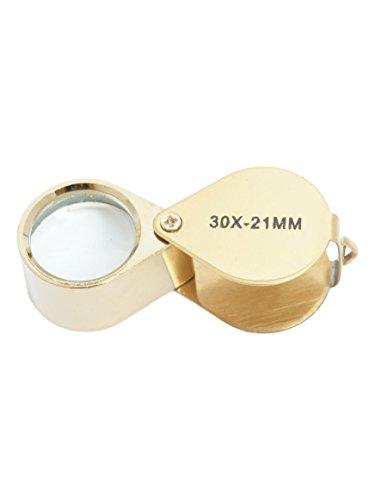 30 Fach Uhrmacher Taschenlupe Juwelier Lupe Vergrößerungsglas 21mm Jewelry Loupe