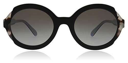 Ray-Ban Damen 0PR 17US Sonnenbrille, Schwarz (Top Black Azure/Spotted Brown), 53
